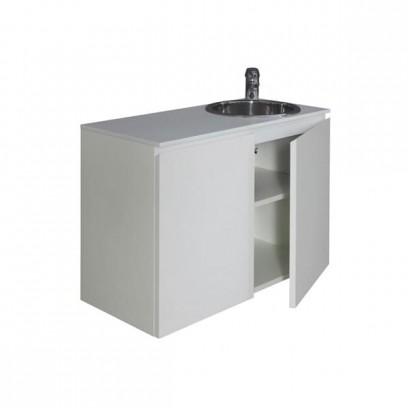 Лаборатория с раковиной City Sink shining laminate